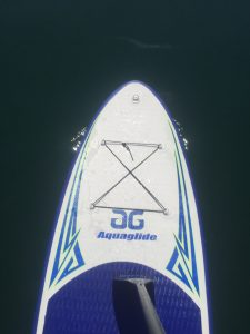 Aquaglide Cascade 10' inflatable standup paddle board