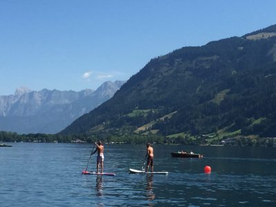 Standup Paddle Boarder Zell am See Austria