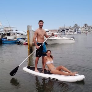 Tower Adventurer inflatable standup paddleboard - ideal for two