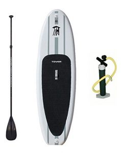 Tower Adventurer inflatable standup paddleboard package
