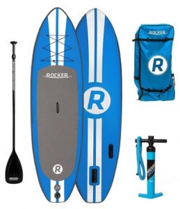 iRocker Inflatable ALL-AROUND Stand Up Paddle Board iSUP