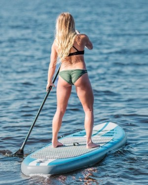 iRocker Inflatable ALL-AROUND Stand Up Paddleboard