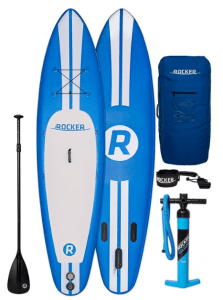 iRocker Inflatable SPORT Stand Up Paddle Board iSUP