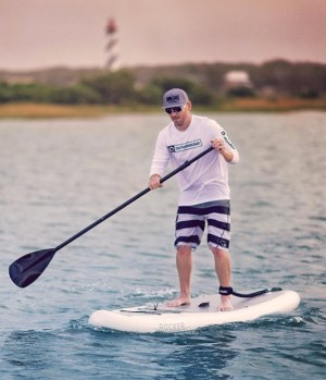iRocker Inflatable SPORT Stand Up Paddleboard