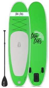 Ten Toes 10' Weekender Inflatable Stand Up Paddle Board - Green color