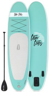 Ten Toes 10' Weekender Inflatable Stand Up Paddle Board - Seafoam color