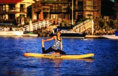 Advanced Elements Lotus YSUP good for yoga poses