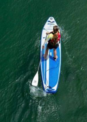 Sea Eagle LB11 Inflatable standup paddleboard 11 feet longboard iSUP