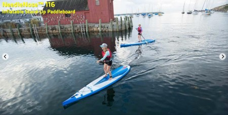 Sea Eagle NN116 Needle Nose Inflatable SUP - great cruising