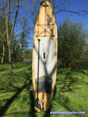 Thurso Surf Waterwalker 10'6 SUP - great package deal with carbon fiber paddle and dual action pump
