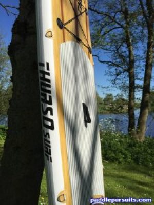Thurso Surf Waterwalker 10'6 SUP - large deck pad on great paddleboard