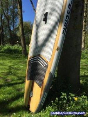 Thurso Surf Waterwalker standup paddleboard - large deck pad and handles