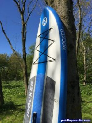 """iRocker Cruiser 10'6"""" iSUP - great construction and features"""