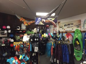 Sierra South Store | Whitewater Gear Department | Fall 2018
