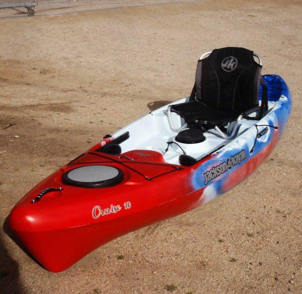 Jackson Kayak   Cruise 10   Patriot   Fishing Kayak