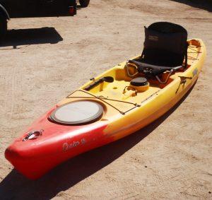 Jackson Kayak | Cruise 12 | Red Yellow | Fishing Kayak