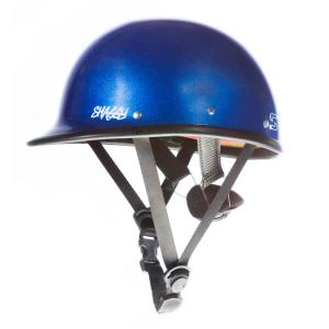 Shred Ready Shaggy Helmet | Metallic Blue