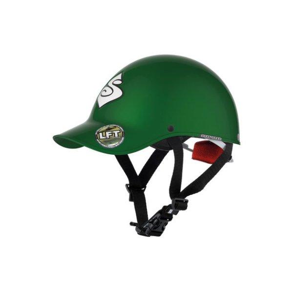 Strutter Helmet | Green | Side View