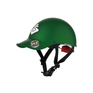 Strutter Helmet | Green | Side View