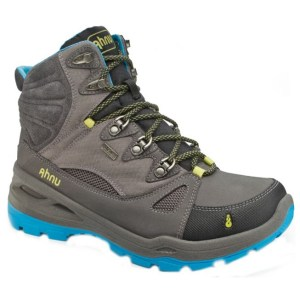 Women's Ahnu North Peak Event Hiking Boot | Dark Grey | Side View