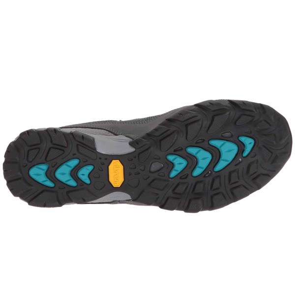 Women's Ahnu by Teva Sugarpine II Air Mesh Hiking Shoe | Dark Shadow | Bottom View