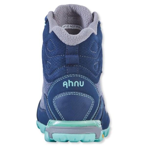 Women's Ahnu by Teva Sugarpine II Waterproof Hiking Boot | Insignia Blue | Back View