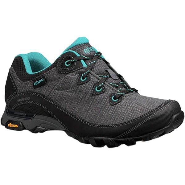 Women's Ahnu by Teva Sugarpine II Waterproof Hiking Shoe | Black | Side View