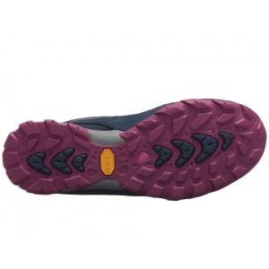 Women's Ahnu by Teva Sugarpine II Waterproof Hiking Shoe | Insignia Blue | Bottom View