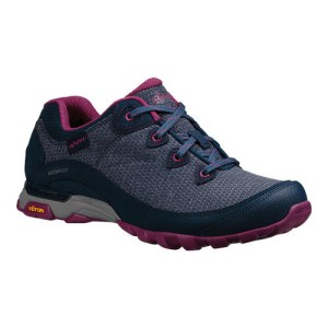 Women's Ahnu by Teva Sugarpine II Waterproof Hiking Shoe | Insignia Blue | Side View