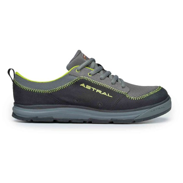 Men's Astral Brewer 2.0 Water Shoe | Basalt Black | Side View
