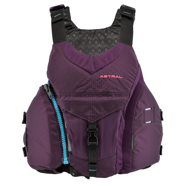 Women's Astral Layla PFD | Eggplant | Front View
