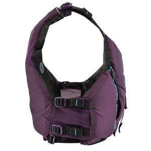 Women's Astral Layla PFD | Eggplant | Side View