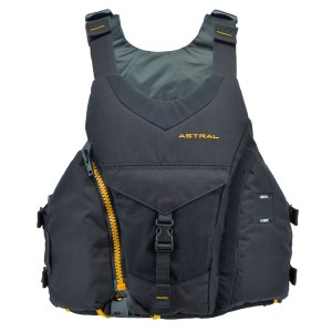 Men's Astral Ringo PFD | Basalt Black | Front View