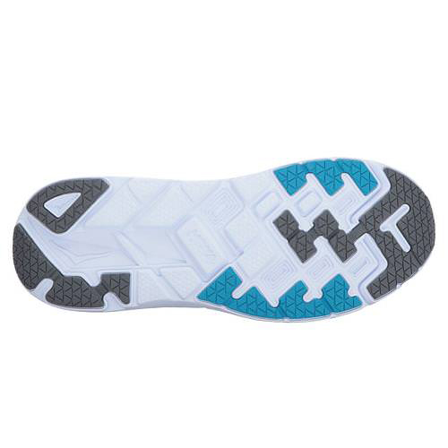 Men's Hoka One One Clifton 4 Running Shoe | Castlerock Atomic Blue | Bottom View