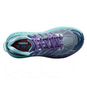 Women's Hoka One One Speedgoat 2 Trail Running Shoe | Tradewinds Vintage Indigo | Top View