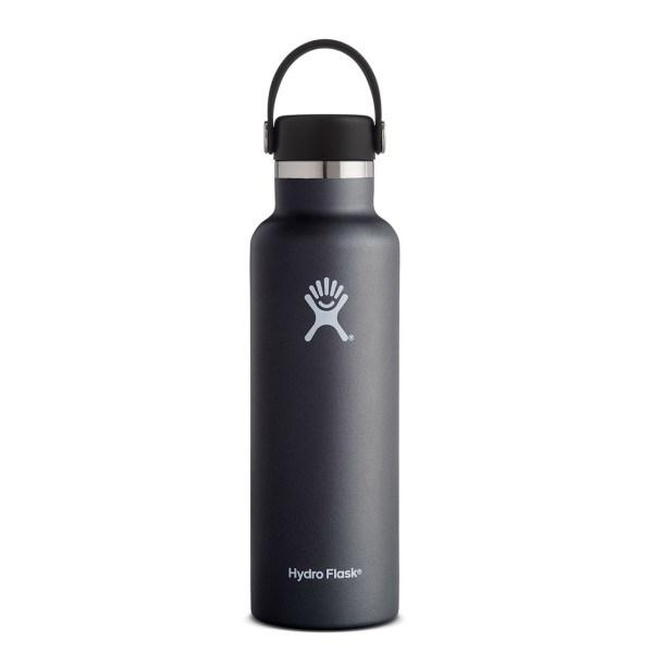 Hydro Flask Standard Mouth 21 Ounce Water Bottle | Black