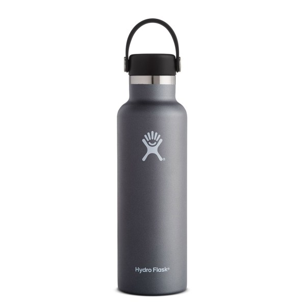 Hydro Flask Standard Mouth 21 Ounce Water Bottle | Graphite
