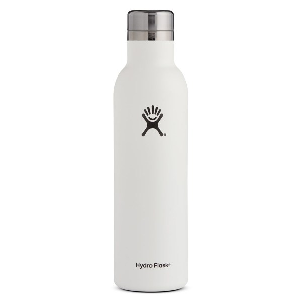 Hydro Flask Wine Tumbler 25 Ounce Bottle | White
