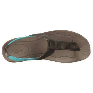 Women's Keen Dauntless Posted Sandal | Burnt Olive | Top View