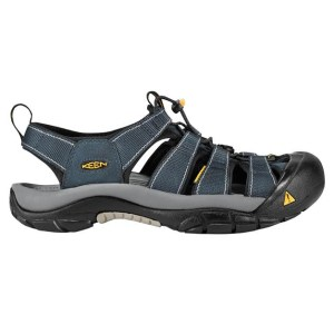 Men's Keen Newport H2 Hiking Sandal | Navy Medium Grey | Side View