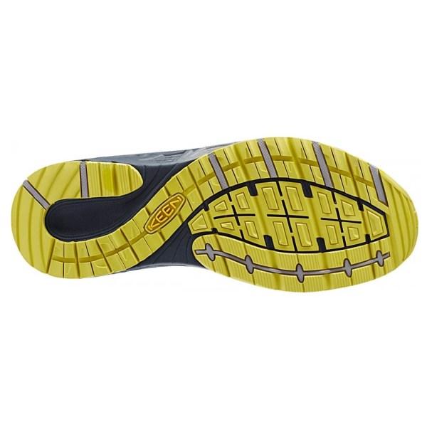 Men's Keen Versatrail Shoe | Midnight Navy Warm Olive | Bottom View