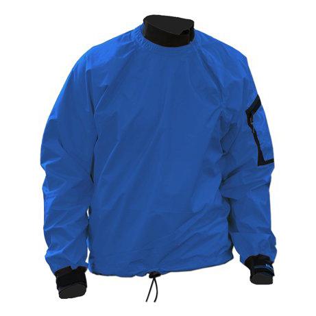 Men's Kokatat Tropos Light Breeze Paddle Jacket | Azul | Front View