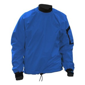 Men's Kokatat Tropos Light Breeze Paddle Jacket | Azul | Front View
