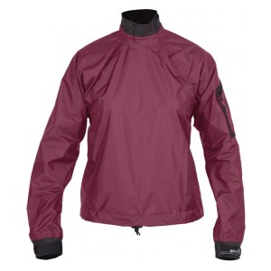 Men's Kokatat Tropos Light Breeze Paddle Jacket | Eggplant | Front View