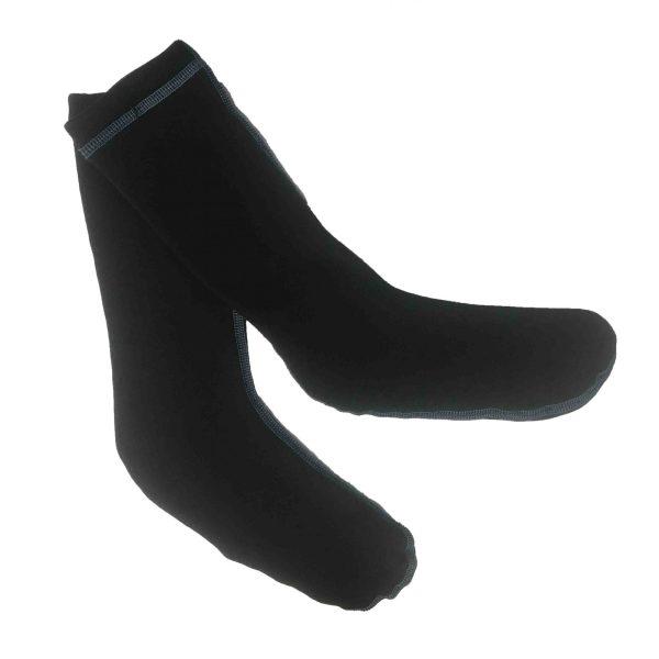 Unisex Mysterioso MTech Socks | Black | Front View