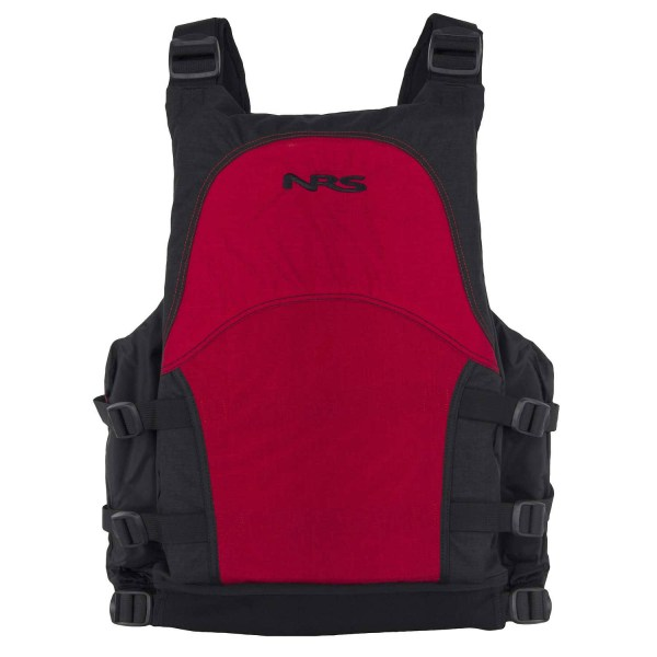 Unisex NRS Big Water Guide PFD | Red | Back View
