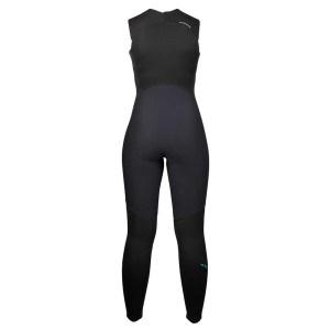 Women's NRS Farmer Jane 2.0 Wetsuit   Black   Back View