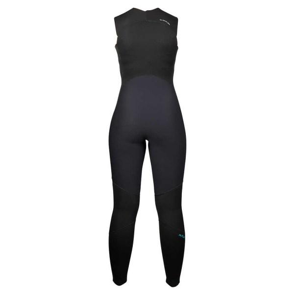 Women's NRS Farmer Jane 2.0 Wetsuit | Black | Back View