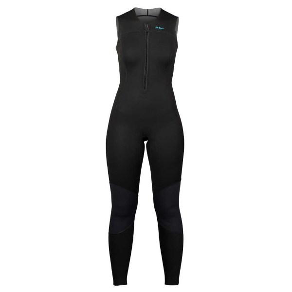 Women's NRS Farmer Jane 2.0 Wetsuit   Black   Front View