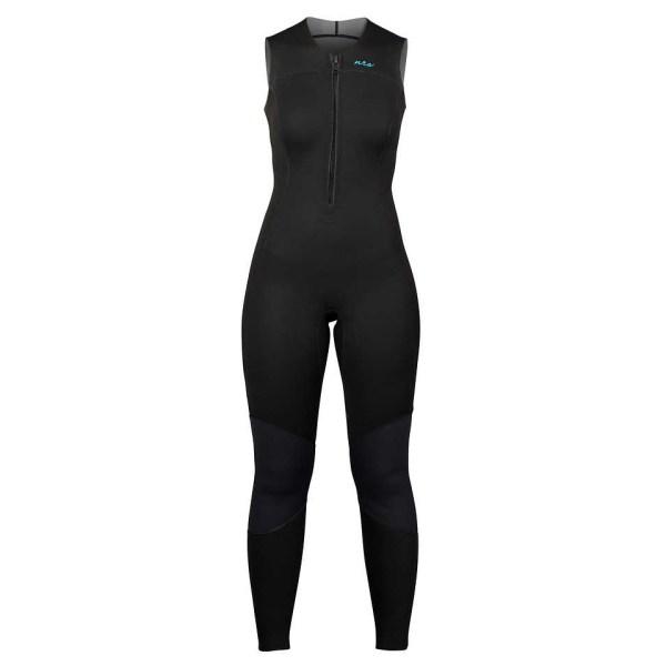 Women's NRS Farmer Jane 2.0 Wetsuit | Black | Front View